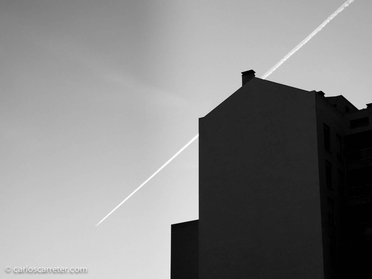 Siluetas contra el cielo