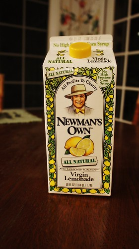 Newman's Own Virigin Lemonade