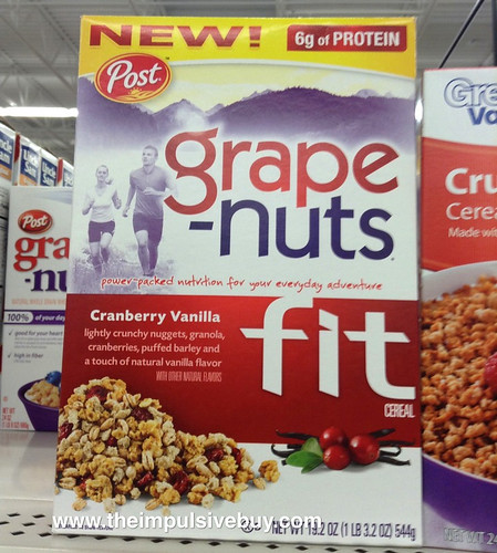 Post Grape Nuts Fit