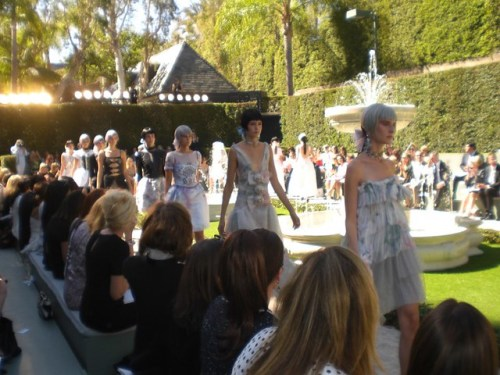 chanel show beverly hills