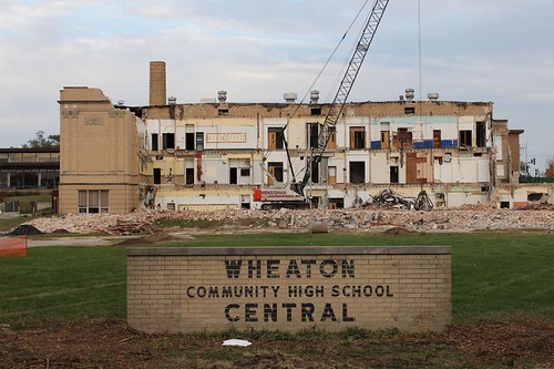 WCHS comes down