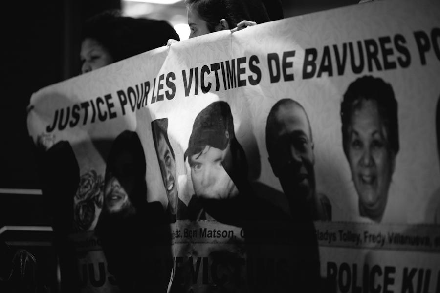 3ième VIGILE COMMÉMORATIVE Justice pour les victimes de bavures policières [Photos Thien V]