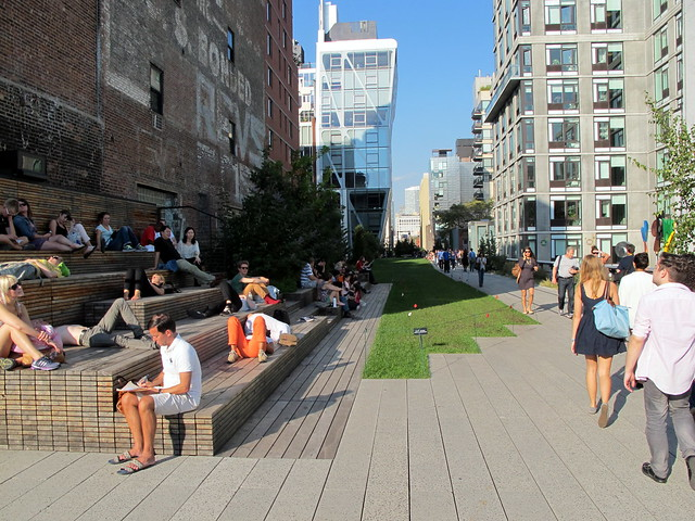 Benches on the High Line