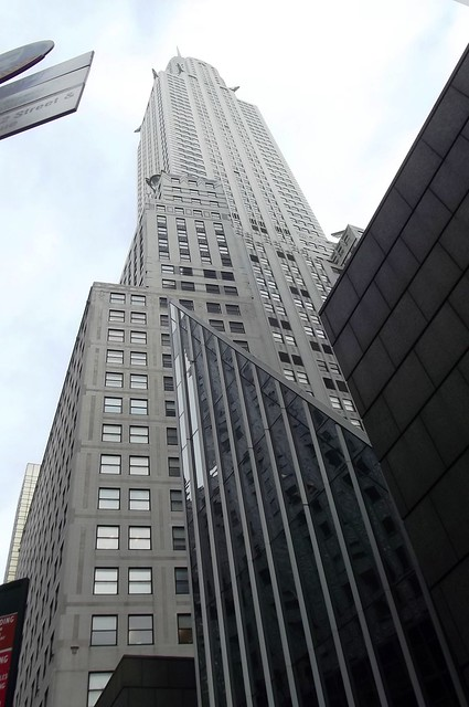 Right below the Chrysler Building