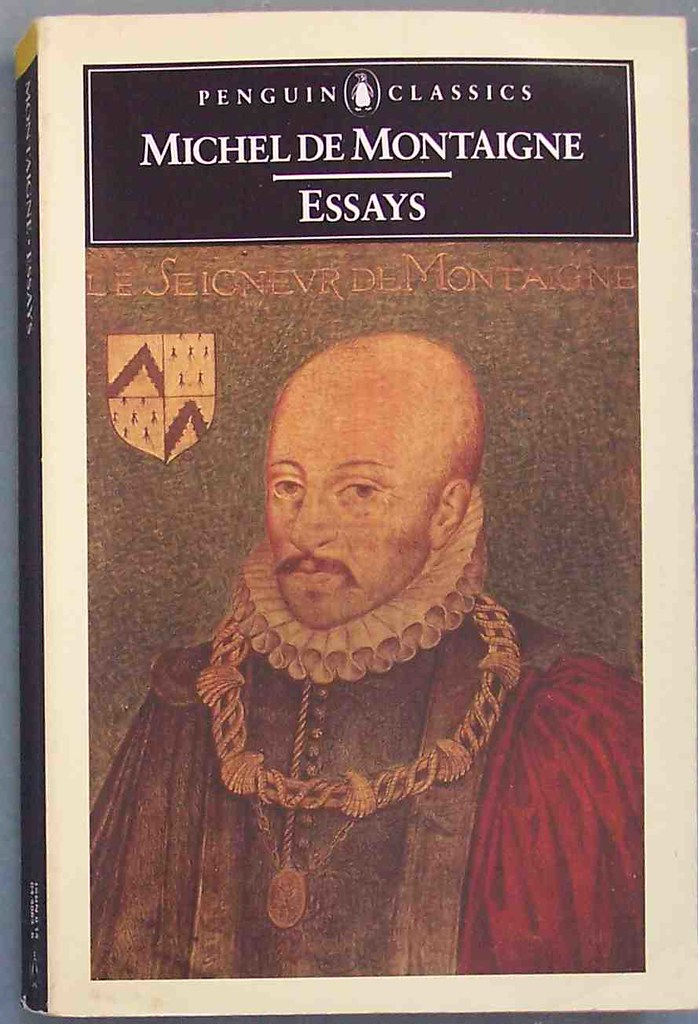 Image result for Michel de Montaigne essays