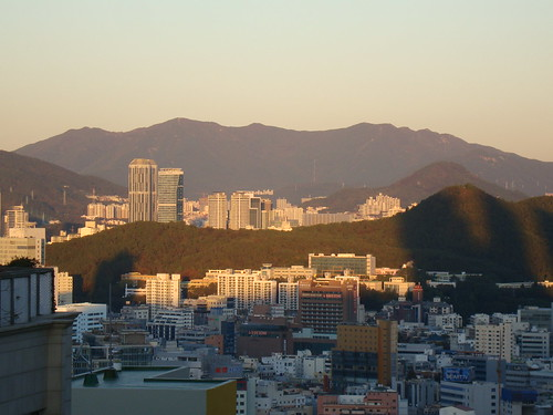 Busan morning by Jens-Olaf