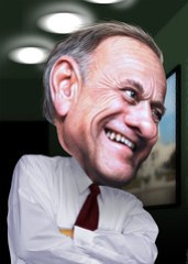 Steve King - Caricature