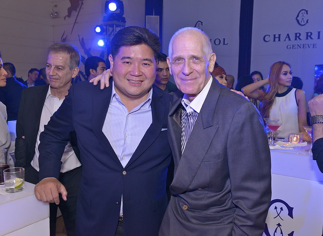 Stores Specialists, Inc. Executive Vice President Anton Huang with Peter Jentes
