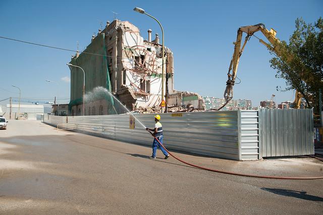 Demolicion edificio ferroviarios junto PIAC_2