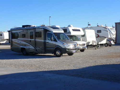 12-20-12 2009 Navion on McClain's RV Lot 2