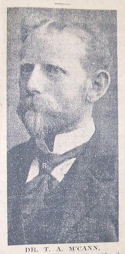 Dr. Thomas A. McCann, ca. 1909