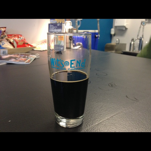 Wit's End Ambition Stout by bad9brad