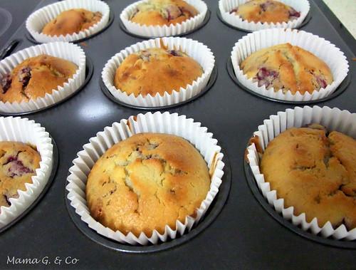 Rasp white choc muffins (2)