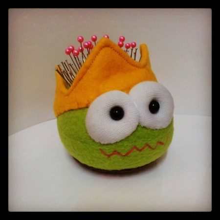 Pin Cushion Monster King