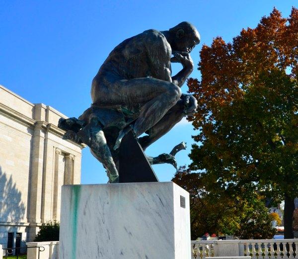 Thinker Cleveland Museum Of Art Explore Edrost8 - Sharing