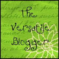 Versatile Blogger Award Graphic