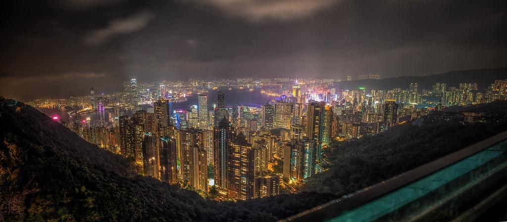 Hong Kong Peak Pano