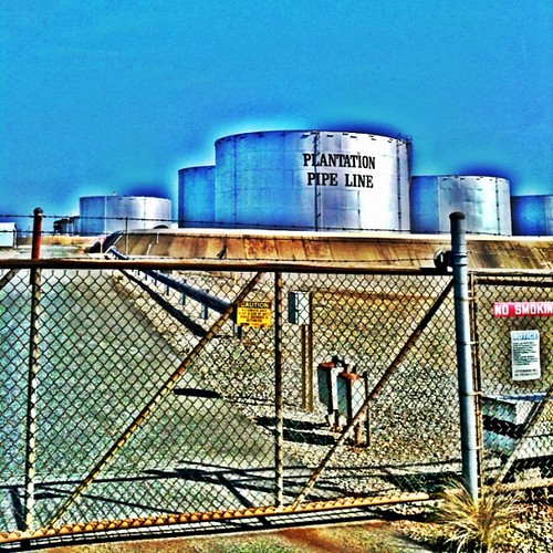 Colonial Pipeline • Tank Farm by Greensboro NC