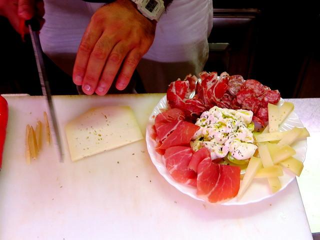 Camedda - dal 1970 a Roma- cheese and salami
