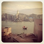 View from Kowloon hotel window