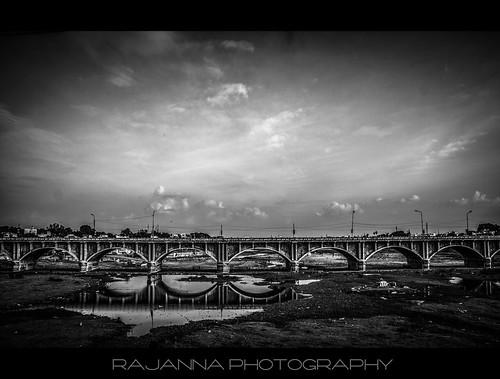 Albert Victor Bridge Across River Vaigai, Madurai by Rajanna @ Rajanna Photography