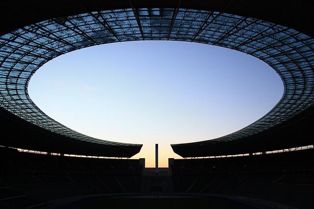 Olympiastadion, Olympic Stadium, Berlin, Germany, fotoeins.com