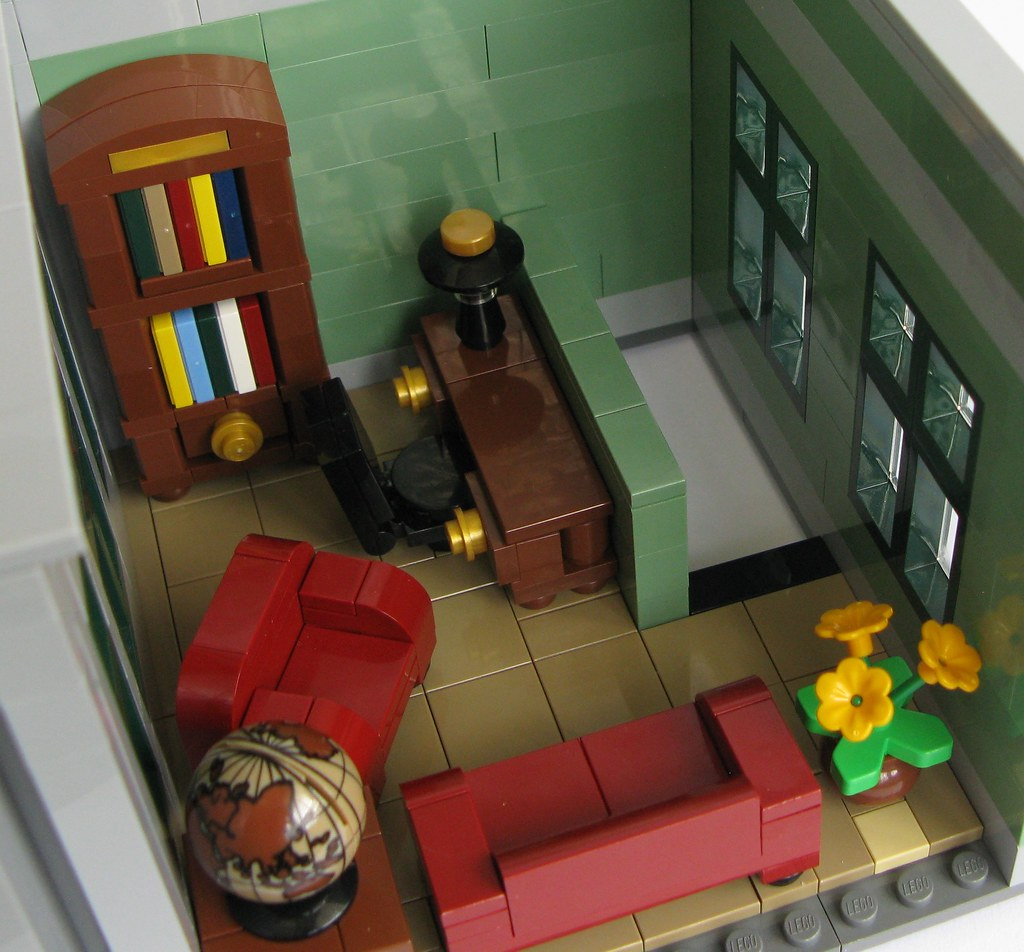 Psychiatrist Chair Modular Lego Office One More From Kjw010 All About