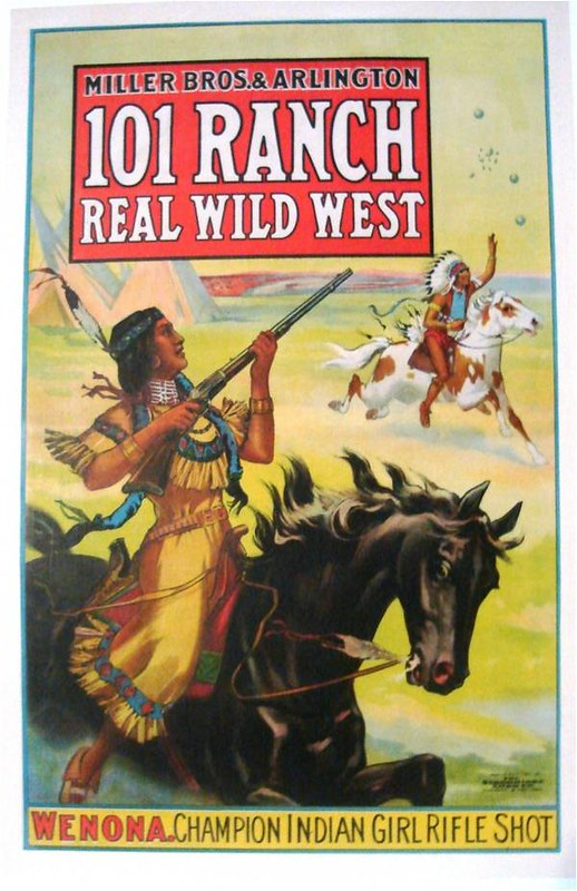 101 Ranch WENONA (1913) Half-Sheet