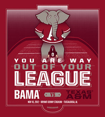 Alabama thinks Texas A&M is not good enough (1/2)