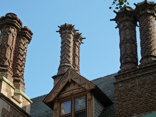 Examples of some of the many different Chimney decorations.