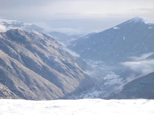 La valle della neve