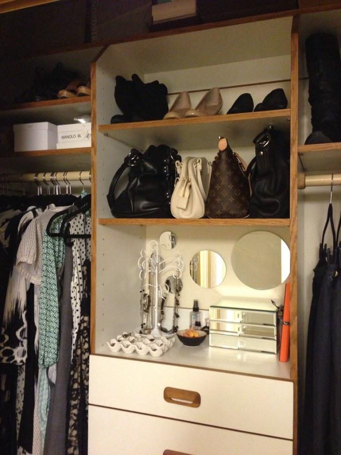 My Organized Closet #thelovelygeek