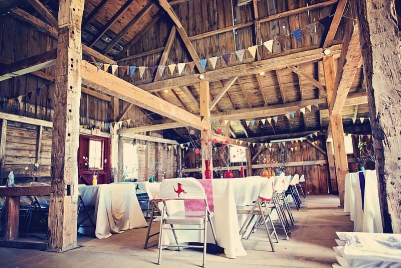 Barn Reception Decor