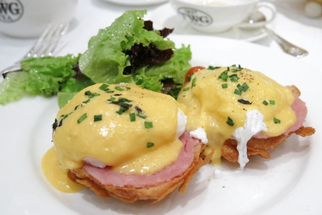 Eggs Benedict at TWG