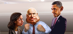 McCain teaches Obama about civility and bipartisanship