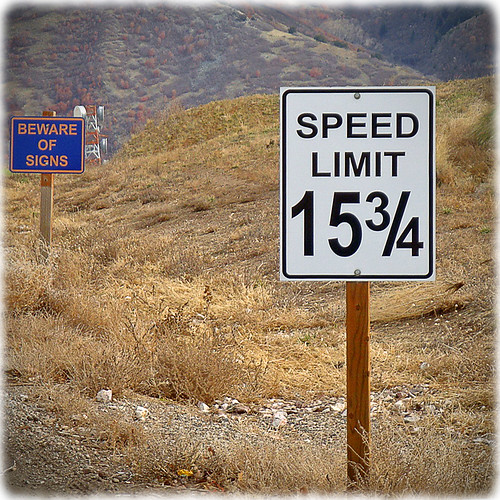 Speed Limit?