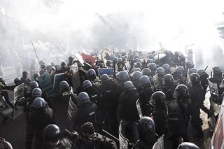 14 novembre 2012 Roma RIOT