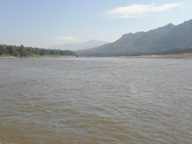 The river Mekong in northern Laos