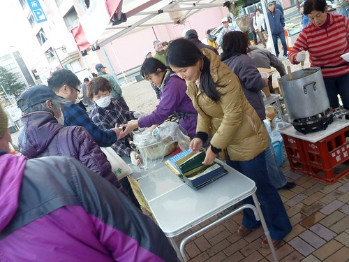 牡鹿半島の「おしかのれん街一周年感謝祭」を見に行く The First Anniversary of Temporary Shopping Mall in Oshika peninsula, deeeply affected by by the Great East Japan Earthquake and Tsunami
