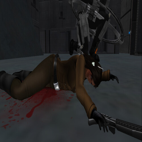 Death of Commissioner Jo'lee. (MESC security footage)