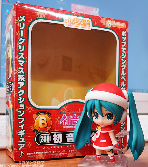 Nendoroid Hatsune Miku: Santa version