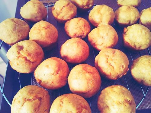 Ginger Sweet Potato Muffins