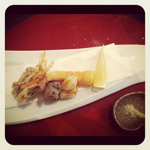 tempura platter