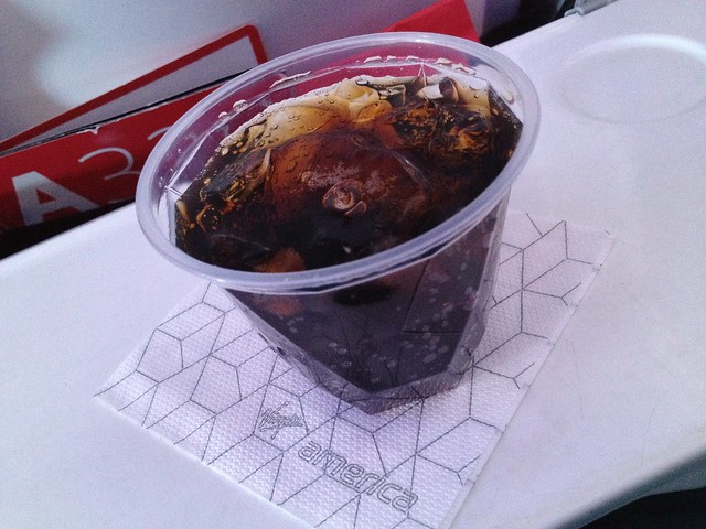Diet Coke - Virgin America