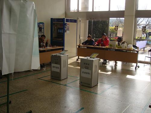 Studentenvertreter-Wahl