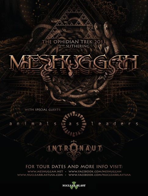 Meshuggah at the Fillmore Silver Spring