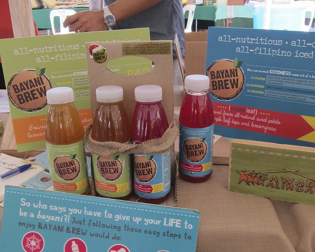 Ultimate Taste Test winner Bayani Brew & other Gawad Kalinga Enchanted Farm products ONLY at Morning Mercato's Healthy, Organic & All-natural market...
