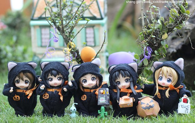 K-ON! Happy Halloween by shinelikestars