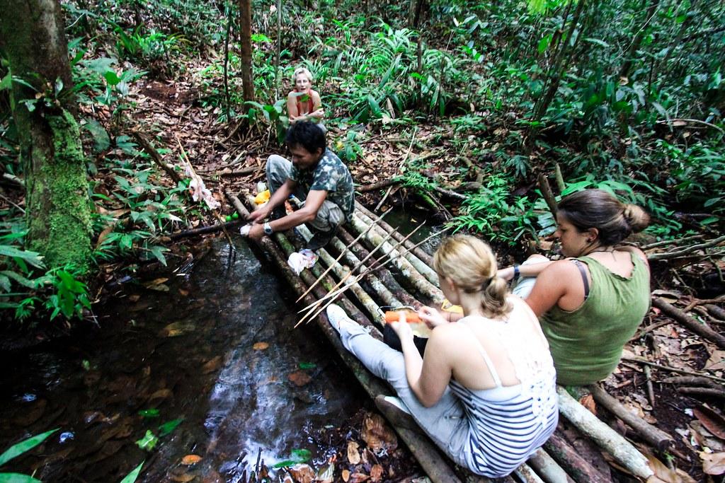 Preparing Dinner - Amazon, Brazil