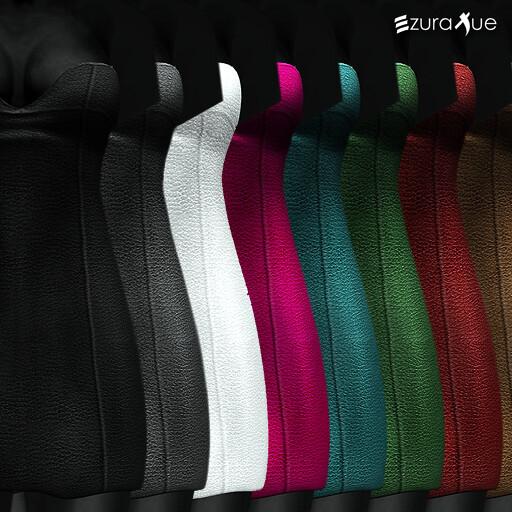 ezura + MESH . Mini Dress Leather - All Colors
